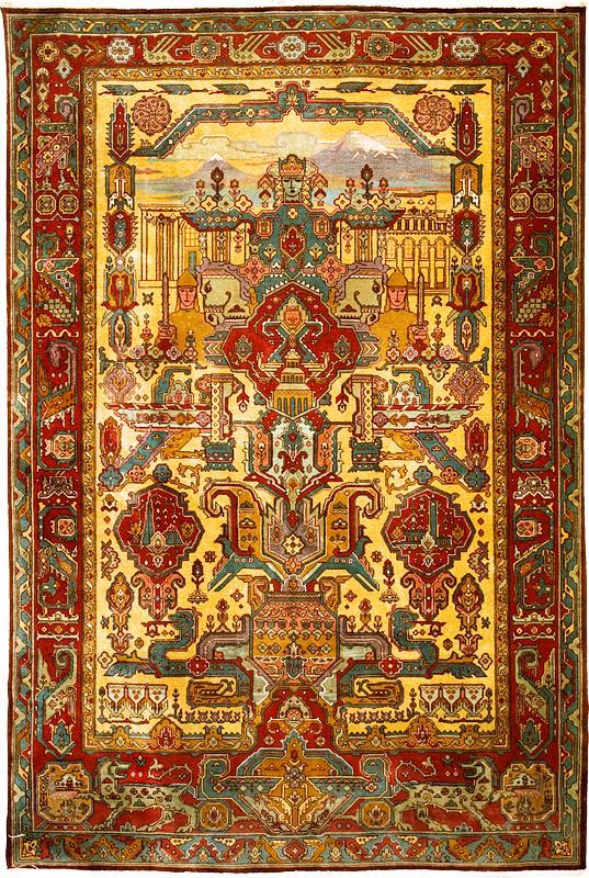 Armenian_rug_Mayr_Hayastan,_20th_century,_No._2358